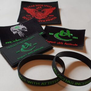 Patches, Wrist Bands & Keyrings